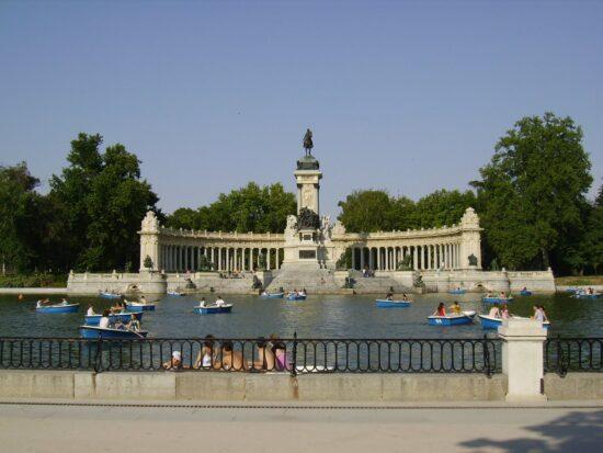 Parque del Retiro a Madrid