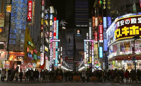 Le metropoli in Giappone