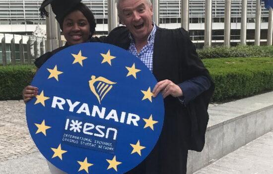 Ryanair offrirà sconti ed agevolazioni agli studenti universitari Erasmus