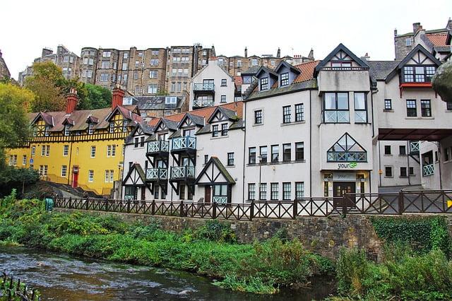 Dean Village, Edimburgo, Scozia