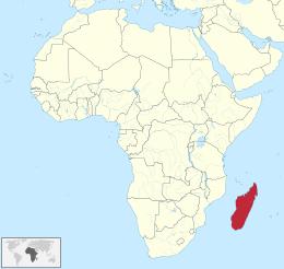 Dove si trova il Madagascar