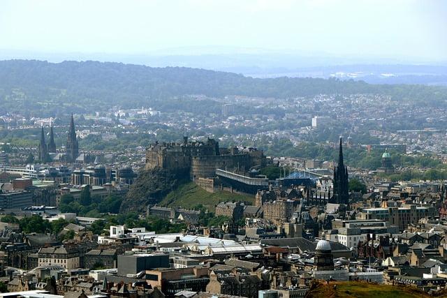 Castello di Edimburgo - Scozia