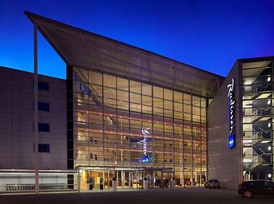 Il Radisson Blu Hotel vicino l'aeroporto di Londra Stansted