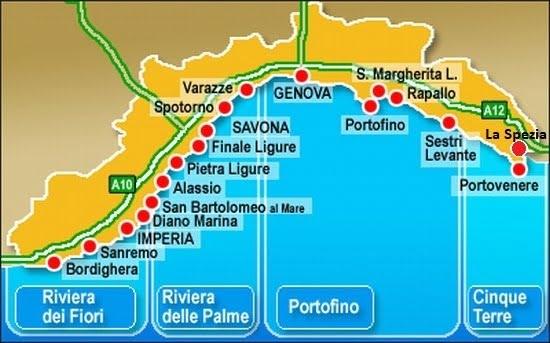 Cartina Stradale Liguria Ponente.Vacanze In Liguria Dove Andare E Dormire Sulla Riviera Di Levante E Ponente Idee Viaggio