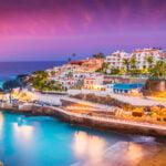 Puerto de Santiago city,  Atlantic Ocean coast, Tenerife, Canary island, Spain