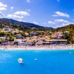 Agios Nikitas panorama Lefkada Island, Greece