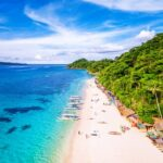Boracay Island Aerial View, Western Visayas, Philippines