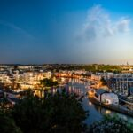 Views of Bristol Harbour and the SS Great Britain