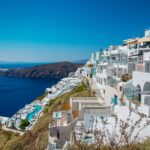 Stunning views of the city of Imerovigli in Santorini #01