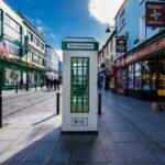 Defibrillator Box on the streets of Killarney, Ireland.