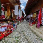 Textile shops, Kruje, Albania
