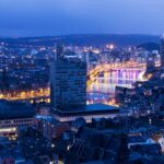 View on Liege in Belgium