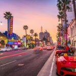 Hollywood Boulevard California
