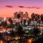 Sunset of Los Angeles