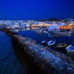 Typical Greek islands' village of Naousa, Paros island