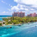 Amazing caribbean beach at Nassau, Bahamas