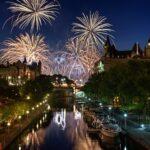 Ottawa Ontario Canada Fireworks