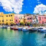 Colorful Procida Island,Campania,Italy