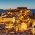 Ragusa Ibla before sunrise