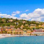 Architecture of Santa Margherita Ligure, Italy