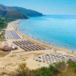 scenic beach at Sperlonga,