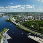 Bird's-eye view of Tampere