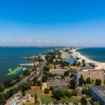 Aerial view of Mamaia